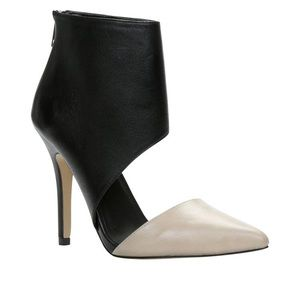 Ceriwiel -36 Black And Nude Pumps